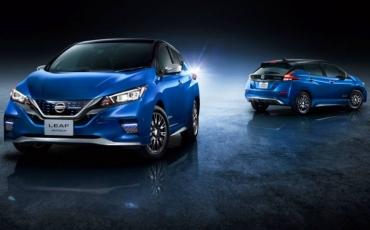 Színesebb lett a Nissan Leaf