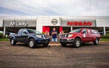 1,6 millió km-t ment 2007-ben vásárolt pickupjával, a Nissan most adott neki egy újat a régiért cserébe
